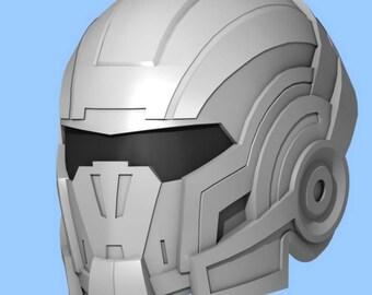 Mass effect cosplay etsy mass effect n7 helmet wearable replica pepakura blueprints for eva foam build maxwellsz