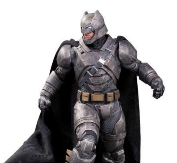 Batman Mech Body Armored Batsuit replica patterns for pepakura