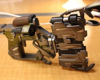 Dead space plasma cutter replica  pattern for pepakura DIY to build your own