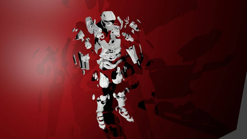 Halo Master Chief armor suit EVA Foam PDF, PDO pepakura templates to build  your own