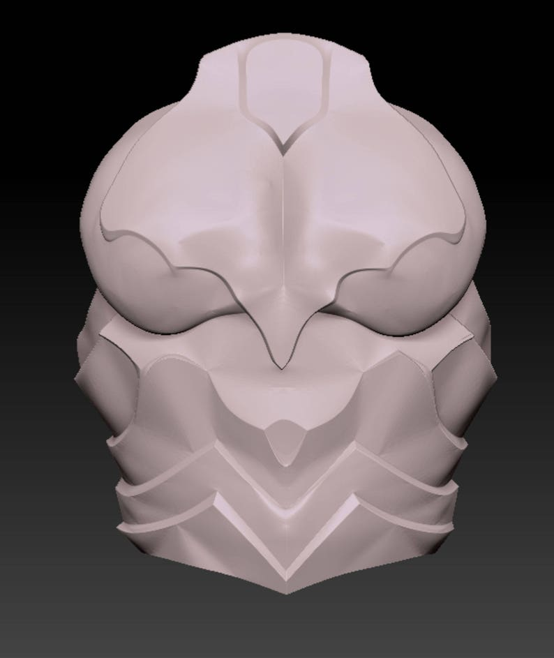 Skyrim Ebony female wearable armor suit 3-D printable