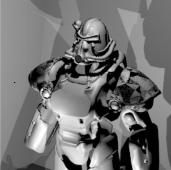 Fallout T 51b Cosplay Power Armor Replica Patterns For Etsy