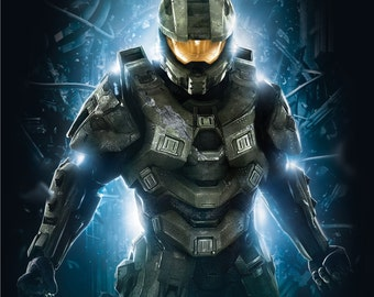 Halo 4 MK IV armor suit replica patterns for pepakura papercraft DIY to build your own