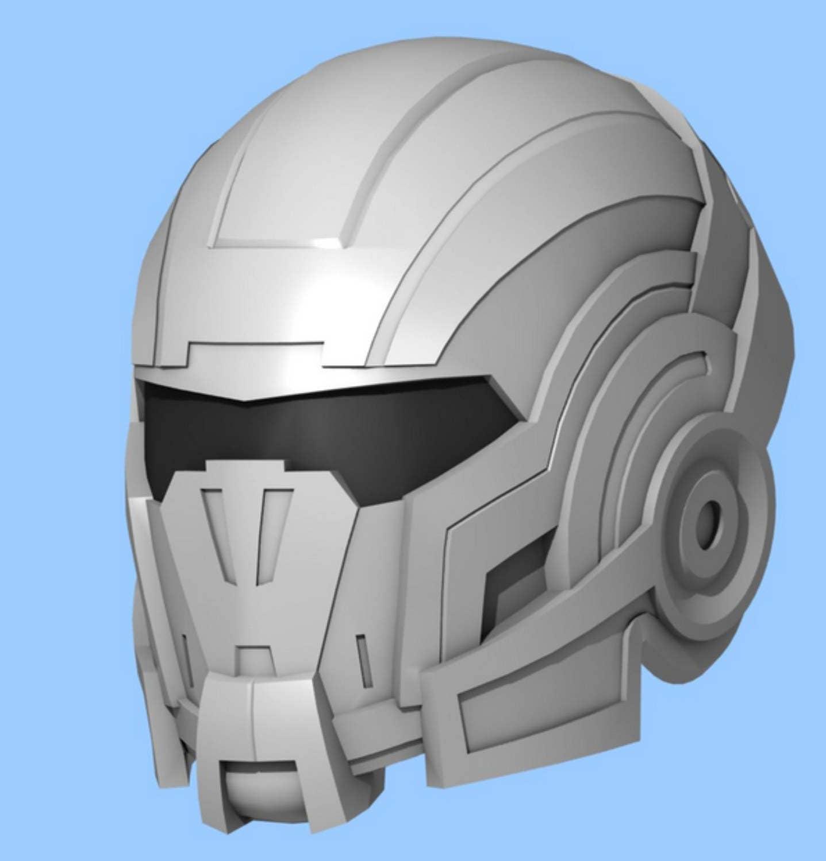Commander Shepard N7 Mass Effect Wearable Helmet for EVA Foam