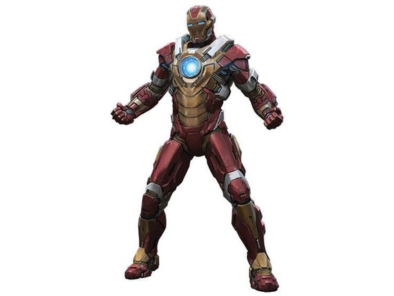 Iron Man MK 17 Heartbraker Wearable Cosplay Replica Pepakura