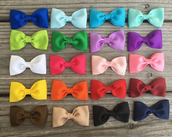 Baby Bows / Small Bows / Toddler Bows / Hair Bows