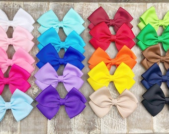 Hair Bows / Back To School Bows / One Dollar Bows / Bows / Hairbows / You Choose
