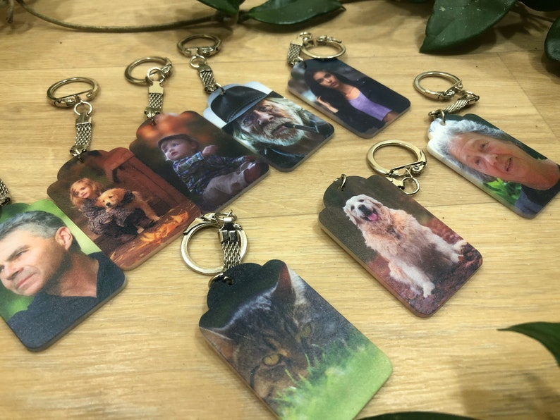 Personalized keychain  husband  loss  loss of husband  photo keychain  you will always be in my heart  Husband Remembrance