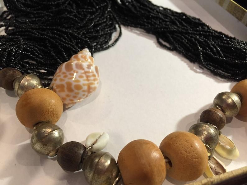 item no VN044 Vintage necklace 32  African inspired