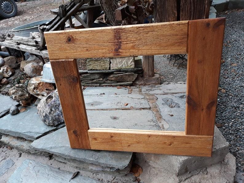 Vecchia quercia specchio specchio shabby vintage country chic casa  decorazione parietale