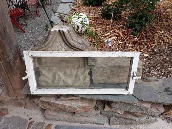 Altes Holz Fenster Oberlicht Deko Shabby Vintage Chic Landhaus Etsy