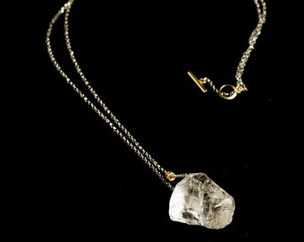 Lolly jewel - Quartz Pendant with silver chain, Crystal Necklace, Quartz necklace, Gift for her