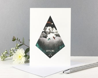Offline Greeting Card