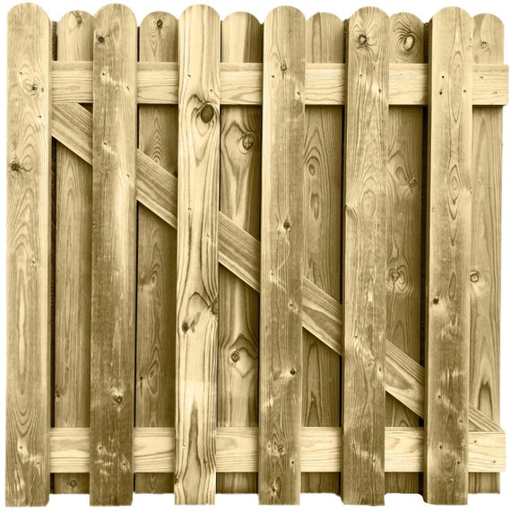 Wide Wooden Picket Garden Gate Quality  pressure treated wood all sizes free pp