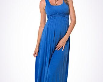 MaxiMum Dress  - Cobalt Blue