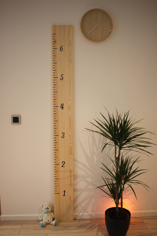 Diy 6 Feet Growth Chart Ruler Decal Kit Growth Chart Decal Etsy