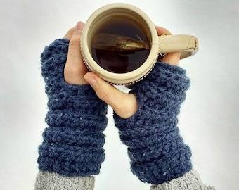 Rainier Wristers Crochet Pattern / Fingerless Gloves / Wrist Warmers
