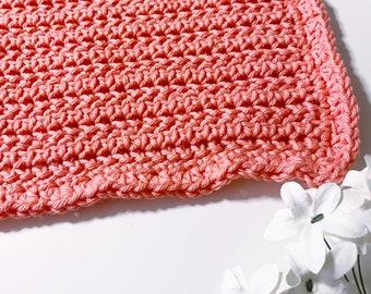 Washcloth 12 - Fishy   crochet washcloth   crochet pattern   crochet facecloth   dishcloth   crochet dishcloth   dishcloth pattern