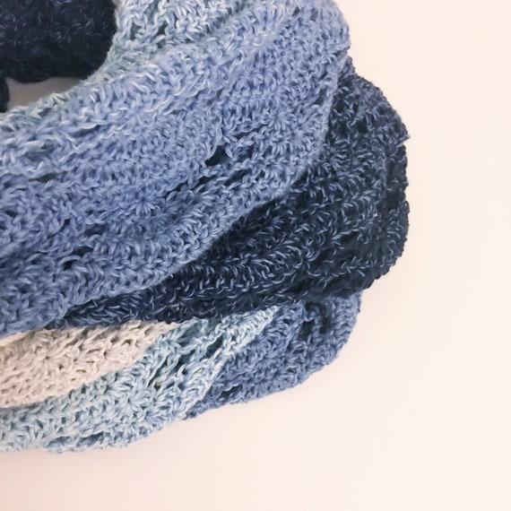 Fan Whirl Crochet Pattern For Scheepjes Whirl Infinity Scarf Etsy
