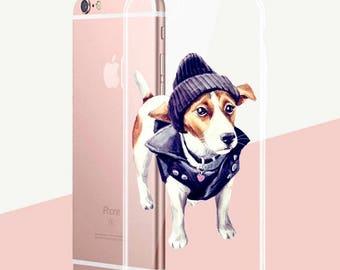 Coque IPhone en silicone «Bonheur queue»
