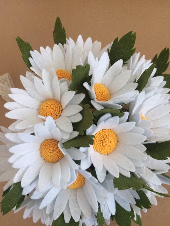 Ganseblumchen Hochzeit Bouquet Ganseblumchen Brautstrauss Etsy