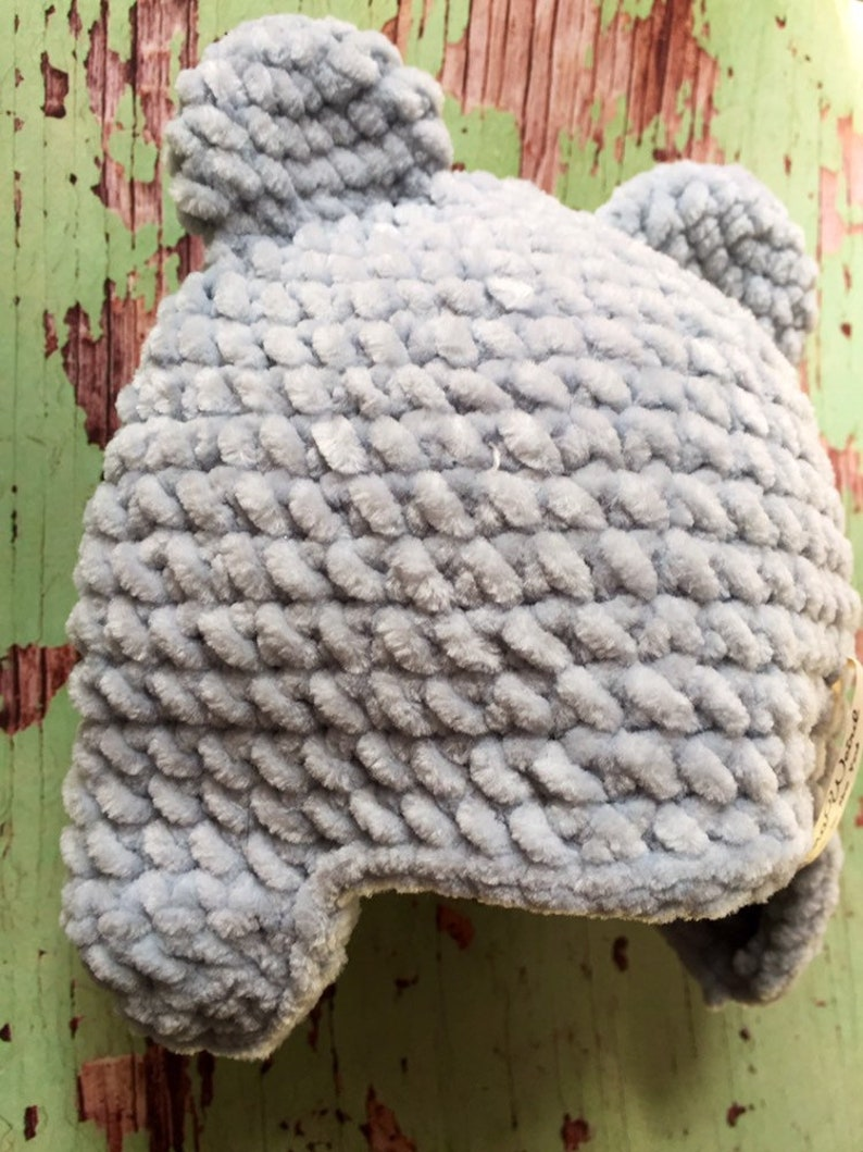 Winter bear hats for children and adults