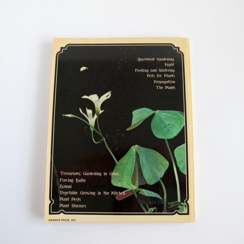 Vintage Houseplant Book, Indoor Plant Guide