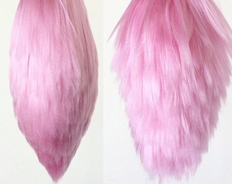 Pink Bunny / Rabbit Yarn tail