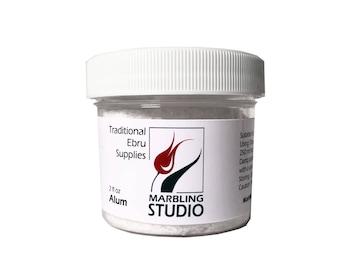 Marbling Alum 2 oz- Traditional Ebru Supplies