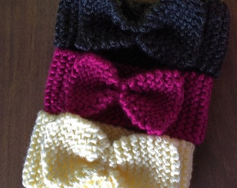 Baby headband - Multiple Colors Available, knit baby headband, baby headband, baby ear warmers, Baby shower gift, infant headband