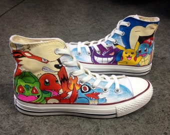 shoes men/'s women/'s and kid/'s shoes Pokemon Arcanine High top sneakers Pokemon shoes