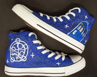 Doctor who converse | Etsy