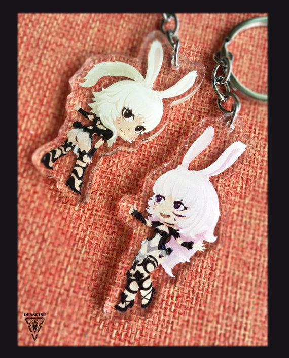 FFXIV Final Fantasy 14 Double-side Charms -SHADOWBRINGERS Viera