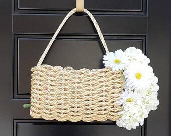 Handwoven Mini Gathering Basket