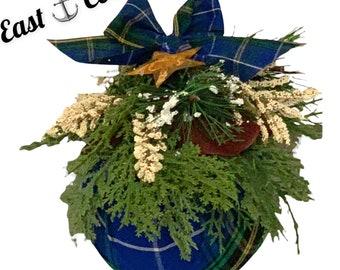 NS Tartan Christmas Ornament Free Shipping