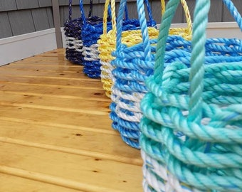 Small - Handwoven Rope Baskets