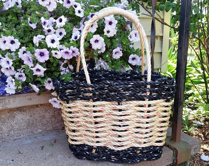 Highsided Flared Rope Basket
