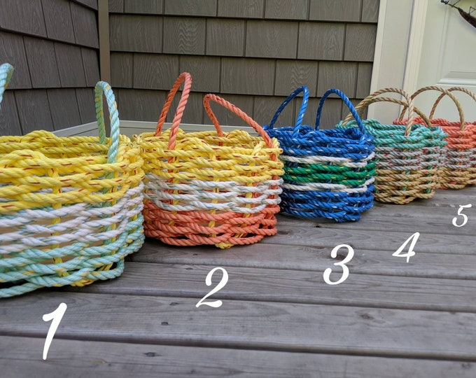 Small - Handwoven Rope Basket