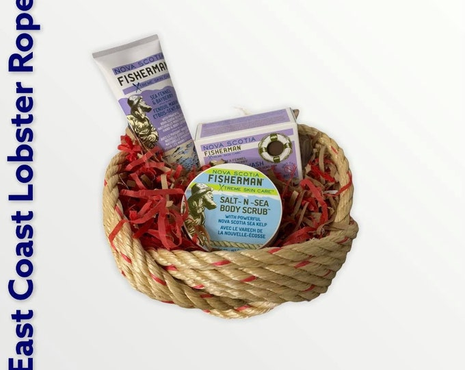 Handwoven Rope Bowl Gift Set
