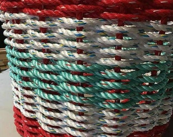 Handwoven Rope Laundry Basket *Custom*