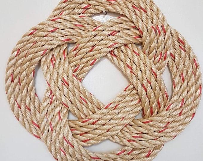 Handwoven Turk's Knot Wreaths Various Colour (4 Byte)