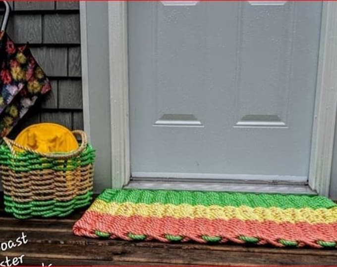 Handwoven Rope Door Mat