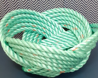 Handwoven Rope Bowl