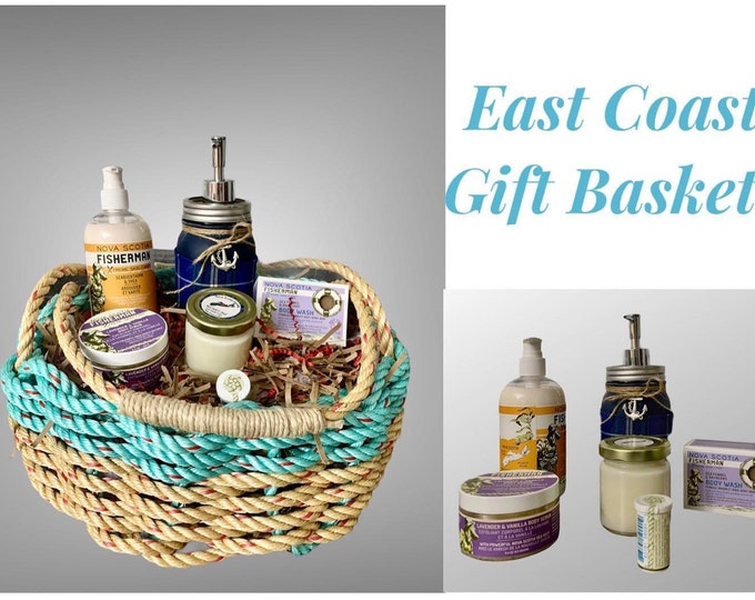 East Coast Gift Basket- Ships Free in Canada