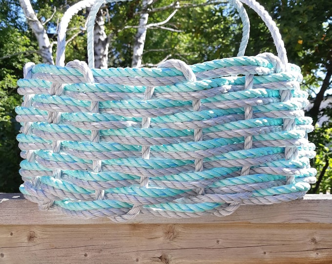 Hand Woven- Oval Market Basket - Assorted Colours