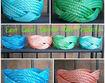 Handwoven Rope Bowls
