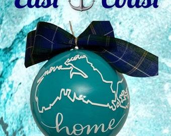 Nova Scotia Xmas Ball with Tartan Bow