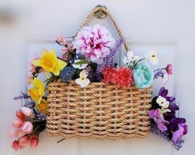 Handwoven Rope Mini Carrying Basket