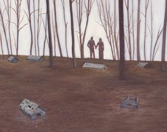 "Print of ""Loved Ones"" by Joshua Moore"