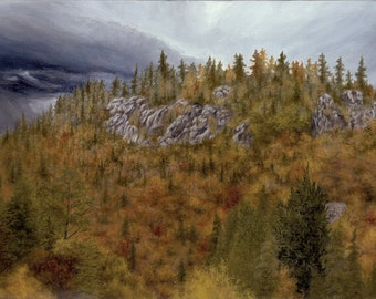 """Print of """"Upper Autumn"""" by Joshua Moore"""